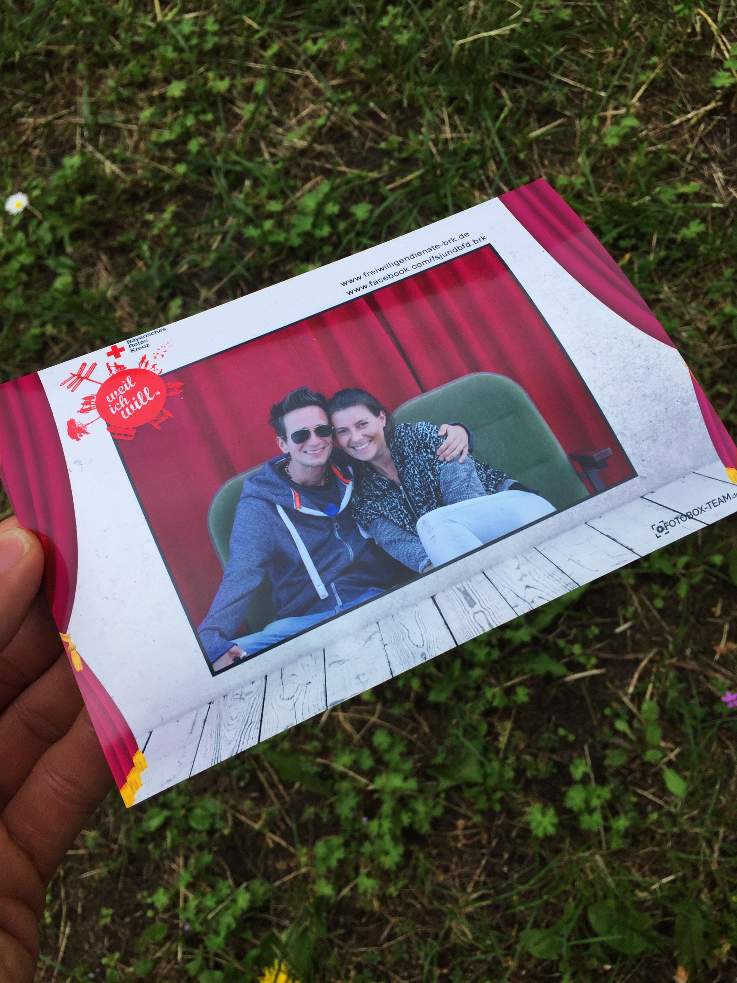 Fotobox auf Open-Air Festival Umsonst & Draussen in Würzburg