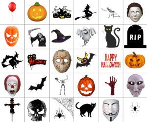 Digitale Accessoires: Halloween