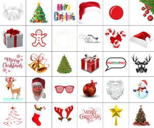 Digitale Accessoires: Weihnachten
